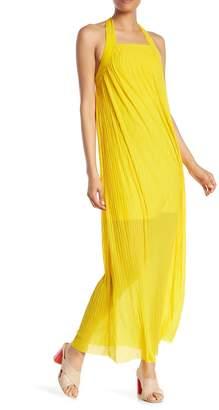 French Connection Palmeira Halter Maxi Dress