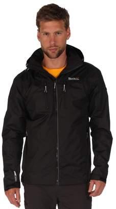 Regatta Black Calderdale Waterproof Jacket