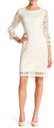 Chetta B Scoop Neck Knit Dress