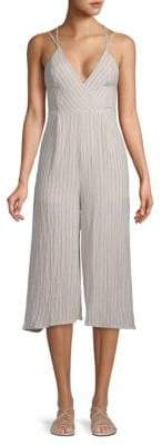 Harper Striped Sleeveless Jumpsuit
