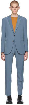 BOSS Blue Slim Noval and Ben Suit