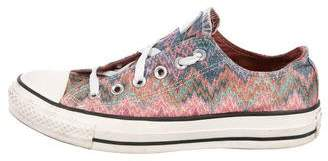 Converse Missoni x Lace-Up Low-Top Sneakers