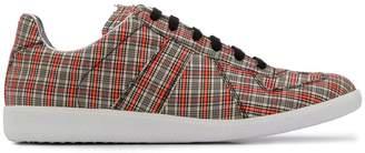 Maison Margiela Replica check sneakers
