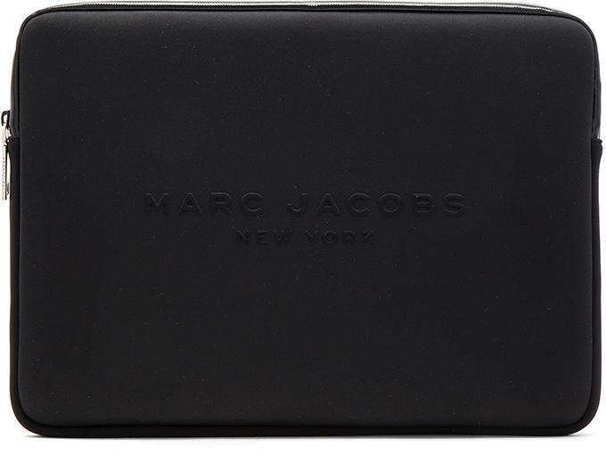 """Marc JacobsMarc Jacobs Neoprene 15"""" Computer Case"""