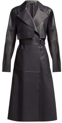 Sportmax Blando Coat - Womens - Dark Blue