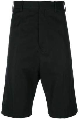 Neil Barrett drop crotch tailored shorts