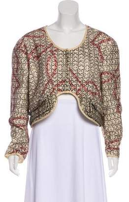 Hache Printed Woven Jacket