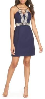 Lilly Pulitzer R) Trista Halter Sheath Dress