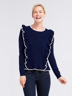 Draper James Nora Ruffle Sweater