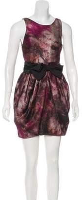 Alice + Olivia Textured Mini Dress