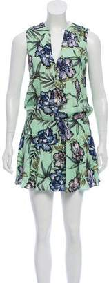 Alice + Olivia Floral Mini Dress