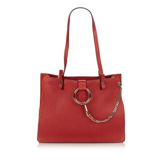Chloé Faye leather tote