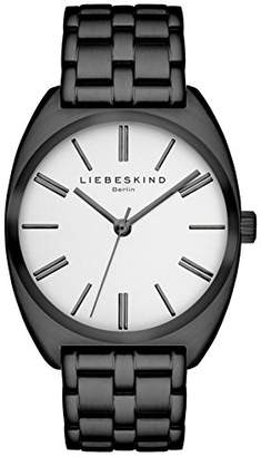 Liebeskind Berlin Unisex Analogue Quartz Watch with Stainless Steel Bracelet – LT-0004-MQ