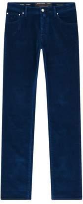 Jacob Cohen Slim Fit Velvet Trousers