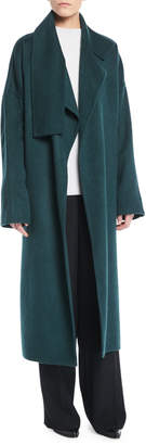 Vince Cozy Belted Long Wool Coat