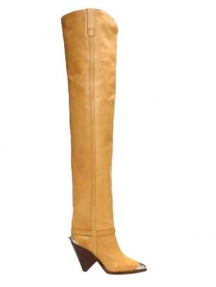 Isabel Marant Lamsy Camel Leather Boots