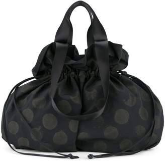 Y's polka dot tote bag