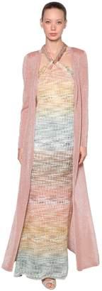 Missoni Long Lurex Knit Cardigan