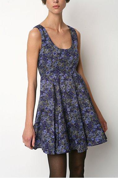 Kimchi Blue Floral Fit N Flare Dress