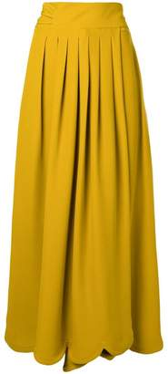 Valentino long pleated skirt