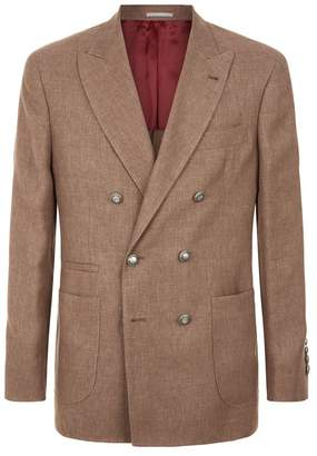 Brunello Cucinelli Double-Breasted Jacket