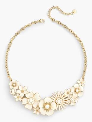 Talbots Floral Enamel Necklace