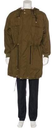 Balmain Lightweight Hooded Coat