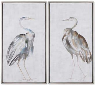 Uttermost Summer Birds 2-Pc. Framed Wall Art Set