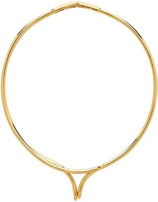 Sterling Forever Pointed X Adjustable Choker Collar