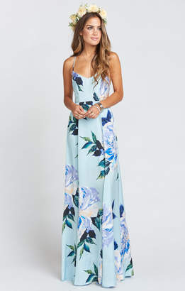 Show Me Your Mumu Godshaw Goddess Gown ~ Mint To Be Floral
