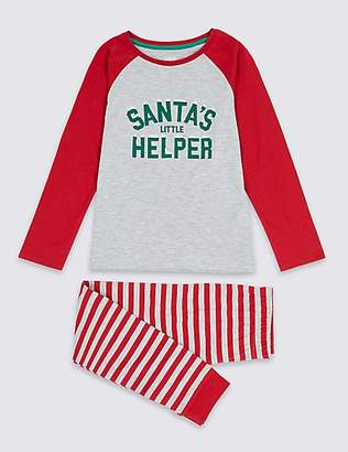 Marks and Spencer Santa Mini Me Pyjamas (1-16 Years)