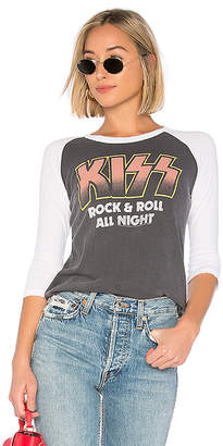 Junk Food Clothing Kiss Rock And Roll All Night Tee