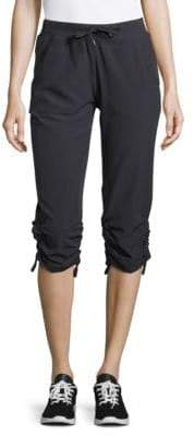 Andrew Marc Performance Solid Pull-String-Cuff Pants