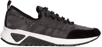 Diesel Distressed Denim Running Sneakers