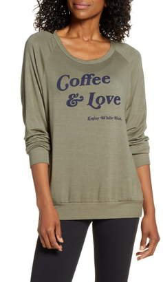 good hYOUman Dave Coffee & Love Pullover