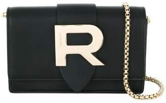 Free Shipping At Farfetch Rochas R Plaque Crossbody Bag