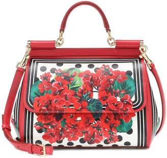 Dolce & Gabbana Siciliy Medium leather shoulder bag