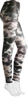 Lemon Tie Dye Leggings -Charcoal (Accessories) - Women's
