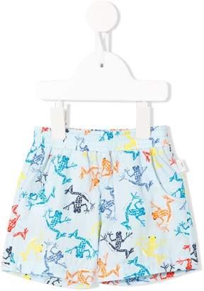 Paul Smith gecko print shorts