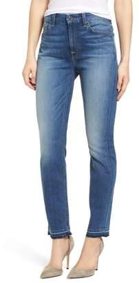Jen7 Release Hem Ankle Skinny Jeans