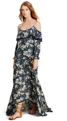 Ralph Lauren Denim & Supply Ruffled Off-the-Shoulder Dress $165 thestylecure.com