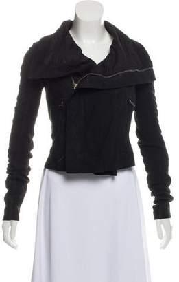 Rick Owens Casual Zip-Up Jacket