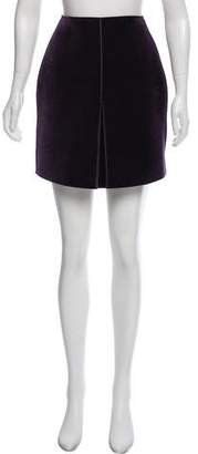 Emporio Armani A-Line Mini Skirt