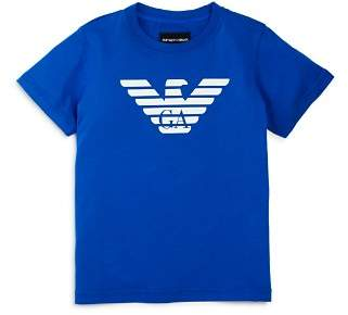 Armani Junior Boys' Logo Tee - Little Kid, Big Kid