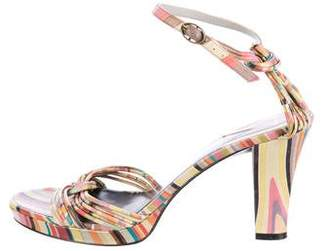 Paul Smith Leather Multistrap Sandals