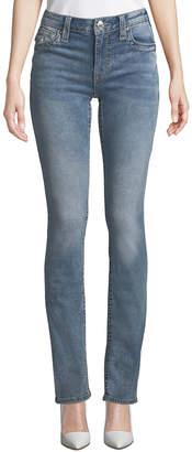 True Religion Straight-Leg Big T Jeans