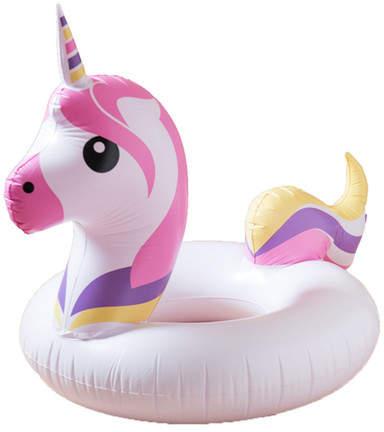 ANKIT HOME Emoji Unicorn Multicolored Pool Float
