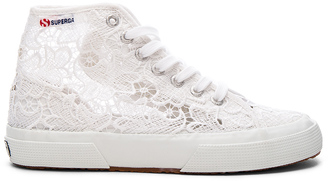 Superga 2750 Cot Macrame High Top Sneaker $99 thestylecure.com
