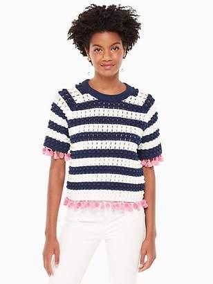 Kate Spade Bauble short sleeve sweater