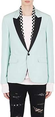 Amiri Men's Silk Scarf-Detail One-Button Sportcoat - Lt. Green